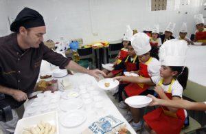 Orlando Ortega, de Lilium, participando en Cocina y Territorio