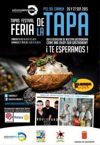 Cartel anunciador de la Feria de la Tapa