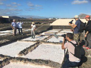 Diego Guerrero conoció el producto Lanzarote