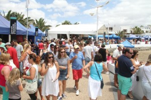 Los organizadores calculan que a la Feria acudieron en torno a las 3.000 personas