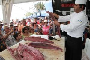 El atún fue uno de los protagonistas de la Feria