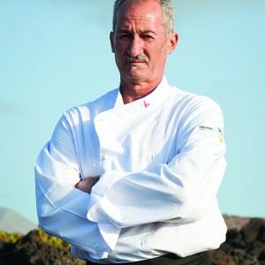 Juan Perdomo, chef de El Risco
