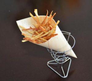 Batatas fritas con sal de mojo, mejor tapa de Arrecife de la pasada Primavera