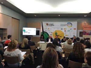 Un momento de la presentación de Saborea España en Bruselas