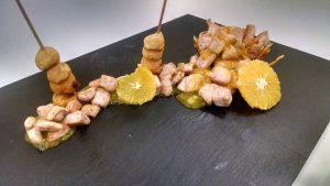 Una de las elaboraciones de los alumnos del IES Zonzamas (FOTO: Facebook Restaurante Pedagógico Malvasía)