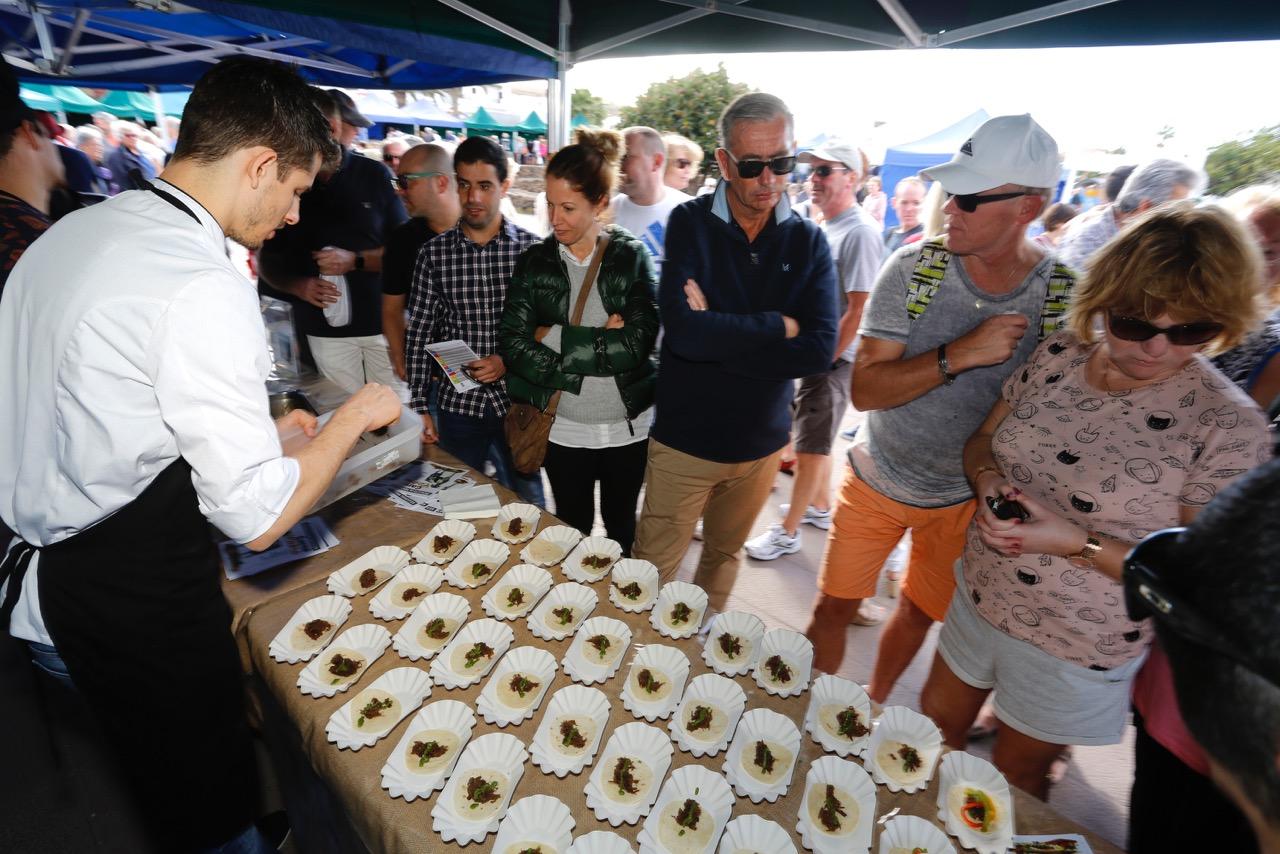 El joven chef Dailos Perdomo estará en el Mercdillo de La Villa