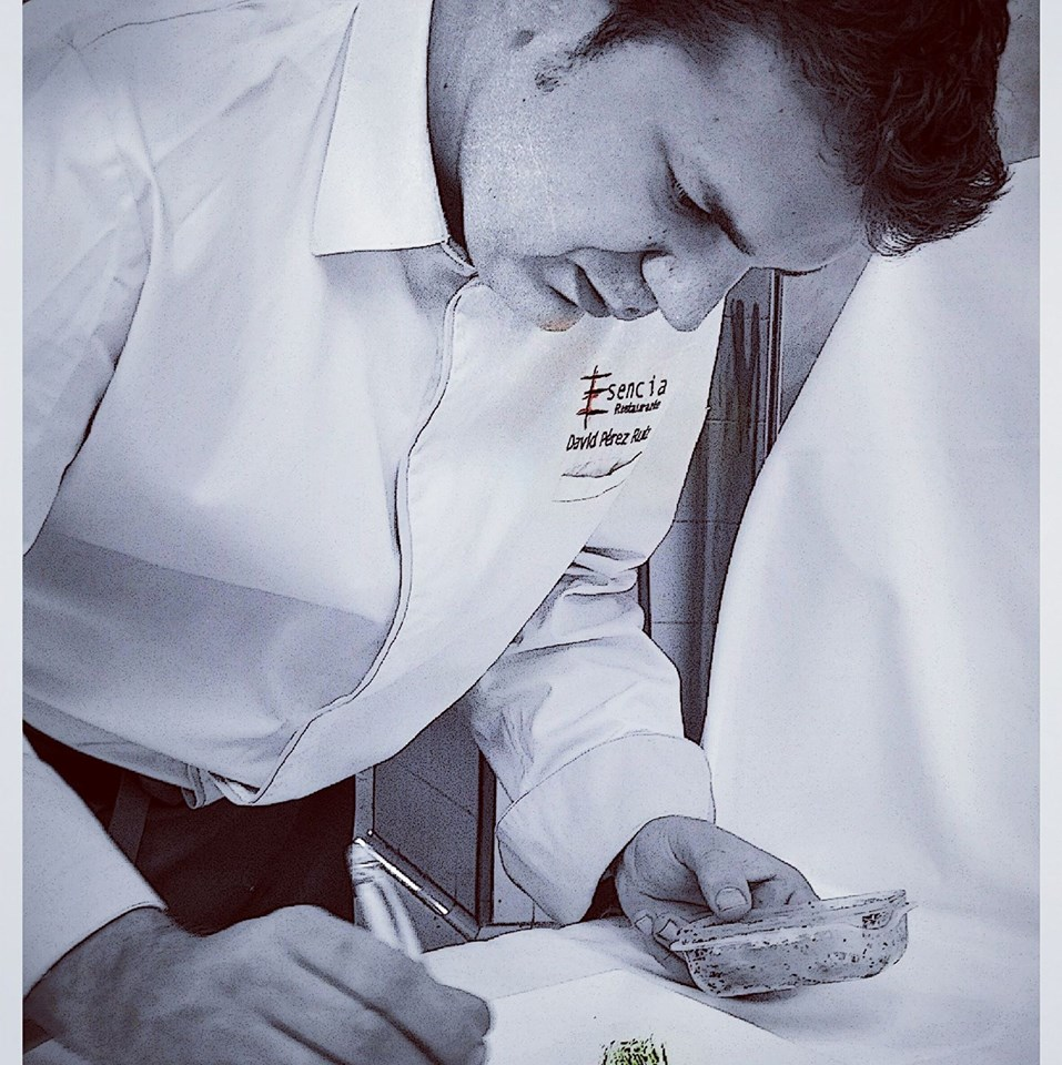 Chef David Pérez (Esencia, Nazaret)
