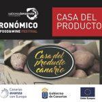 Lo que pasa en Canarias estará en la Casa del Producto del Festival Saborea Lanzarote