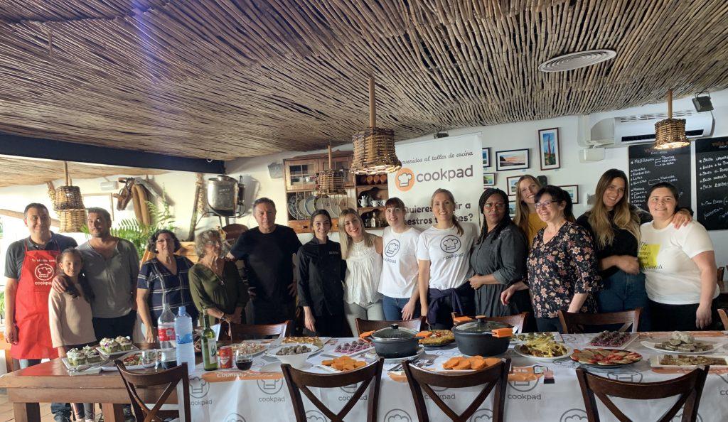 Autores canarios de Cookpad en el evento de La Orotava