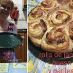 'Rollos de jamón, queso y dátiles', plato ganador del concurso 'Yo cocino en casa'