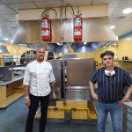 Armando Santana y el chef Germán Blanco llenan de solidaridad el Día de Canarias